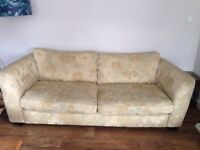 3or4 seater& 2 seater sofas
