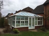 Large conservatory roof