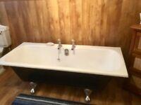 Full sized card iron retro bath good condition