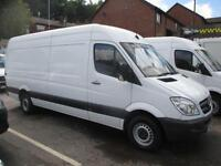 2012 62 MERCEDES-BENZ SPRINTER 313 CDI LWB 130 BHP TURBO DIESEL CHOICE OF THR