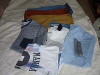 Boys shorts and T shirts