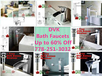 Summer sale at DVK up to 60% off  Bath Vanity Faucets Start From