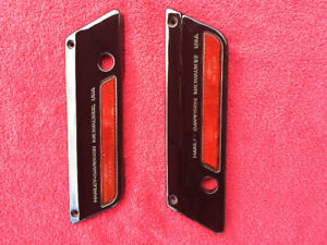 Harley Saddlebag Latch Covers