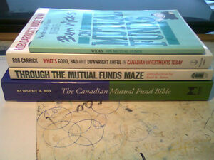 BOOKS EXPLAINING MUTUAL FUNDS & INVESTING IN THEM