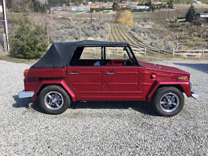 Rare Summer Classic for Sale VW Thing Type 181 Convertible