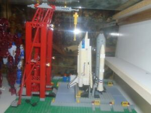 100% COMPLETE LEGO 6339 VINTAGE SPACE SHUTTLE LAUNCH PAD