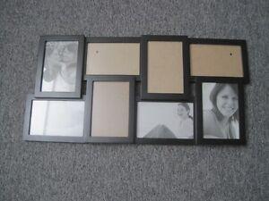 Cadre noir pour photos