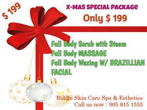 Only 110$ Full body scrub w/steam+Ma$$age+Gold Facial..spa Cambridge Kitchener Area image 3