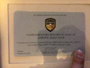 Golf foursome at lebovic golf club