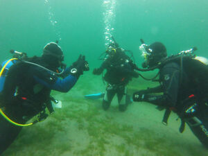 PADI SCUBA diving certification