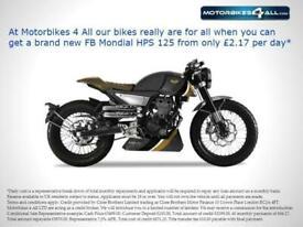 FB Mondial HPS 125 Hipster