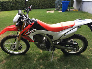 semi route crf 250
