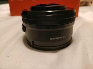 Sony 16-50mm kit lens for sony apc camera