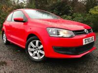 *6 MTHS WARRANTY*2010(10)VW POLO 1.6 TDI SE 3DR WITH ONLY 49K FSH VERY CLEAN*