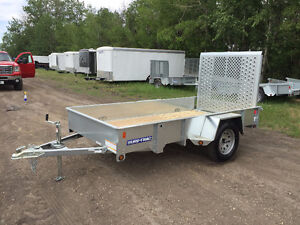 NEW Sure Trac 5x10ft Galvanized Utility Trailer $2699