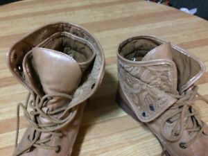 Lace-up boots by Rock & Candy.  $20.00