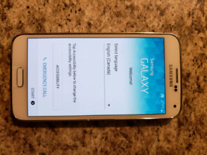 Samsung S5 with Telus