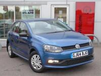 2014 VOLKSWAGEN POLO 1.0 S 5dr [AC]
