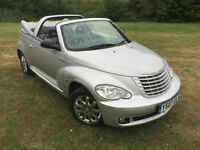 2007 Chrysler PT Cruiser Limited 2.4 Petrol Auto convertible leather trim 53k