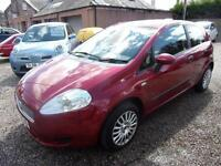 FIAT PUNTO 1.2 grande punto 2009 Petrol Manual in Red