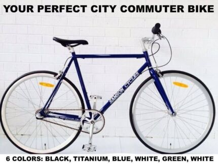 SAMSON CYCLES SHIMANO NEXUS 3SPEED ROAD BIKE WITH LIGHTS AND LOCK Brunswick Moreland Area Preview