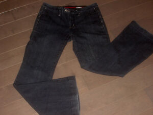Banana Republic jeans size 4 Boot cut Dark Denim RN 54023 mint e