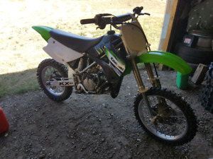 2002 kx85 freshly rebuilt and ready to ride
