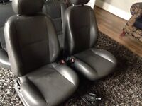 Ford Focus Black leather heated interior