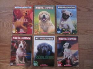 """Mission: Adoption"" French Chapter Books"