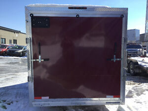 2017 Canadian Trailer Company 7x12 V-Nose Pewter and Red Cambridge Kitchener Area image 4