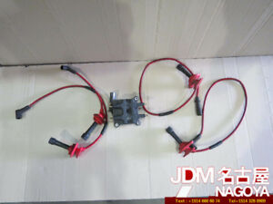 JDM Subaru WRX GC8 V5 V6 STi Turbo FH0161 Ignition Coil, Wire