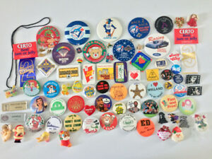 Button Collection of Over 75