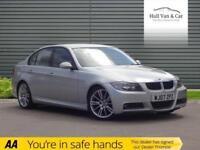 2007 07 BMW 3 SERIES 2.0 320D M SPORT 4D AUTO 161 BHP DIESEL