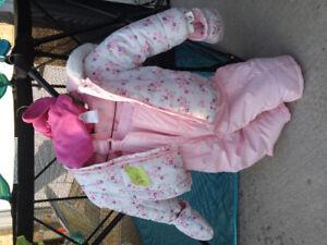 Infant snow suit 6-12 months