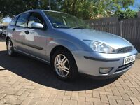 Ford Focus 1.6, 5 Door, Low Mileage, Long MOT, Full Service History