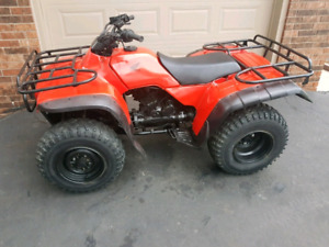 Honda 300 4x4 fourtrax atv, quad, four wheeler Great