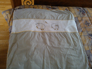 Crib Bedding Set with Nursing Pillow