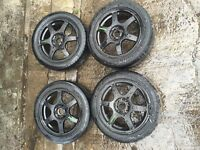 16 inch Subaru alloys and tyres