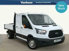 2018 Ford Transit 2.0 TDCi 130ps One Stop Utility Cab Tipper Long Wheelbase L3 T