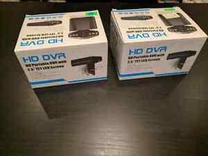 2 Car Dash cameras HD DVR Brand New