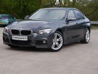 2013 63 BMW 3 SERIES 2.0 320D M SPORT 4D 181 BHP DIESEL, NAV, LEATHER, P/SEN,
