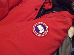 Authentic women's red Whistler Canada Goose Jacket for sale. St. John's Newfoundland image 5