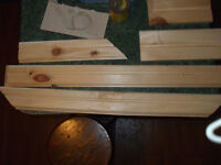 HOME MADE TRIM FOR SALE,,( OUT OF PINE ) OR WHAT EVER
