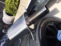 Hayward & Scott Subaru Impreza STI axleback exhaust