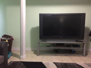 Sony plasma tv 55 inch and tv stand