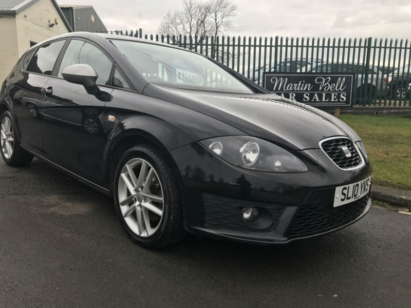2010 seat leon fr 2 0 tdi 170 bhp cr 55 000 miles fsh in darlington county durham gumtree. Black Bedroom Furniture Sets. Home Design Ideas