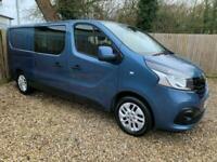 Renault Trafic Energy Crew Van 6 Seats LL29 120 Sport, 41,300 MILES - FSH