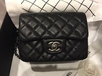 Chanel 2.55 mini bag with vintage hardware