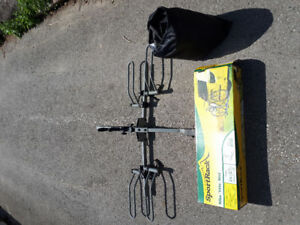 Two bike / bicycle rack and cover   excellent condition
