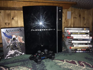 Sony Playstation 3 in good condition plus games!